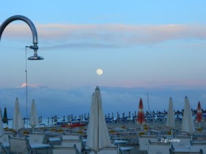 the moon in cesenatico