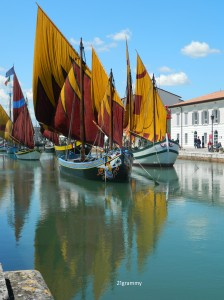 The old boats in Cesenatico are also part of the Sea Museum