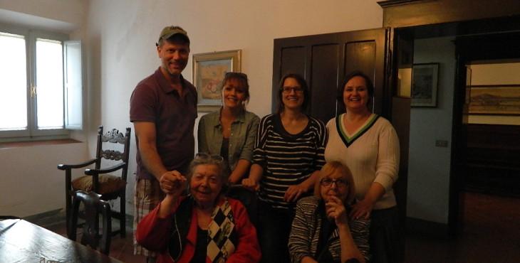 bloggers at casa moretti
