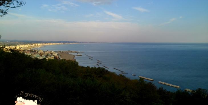 landscape from casa marola marche