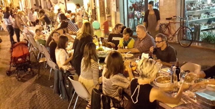 social street dinner forlì