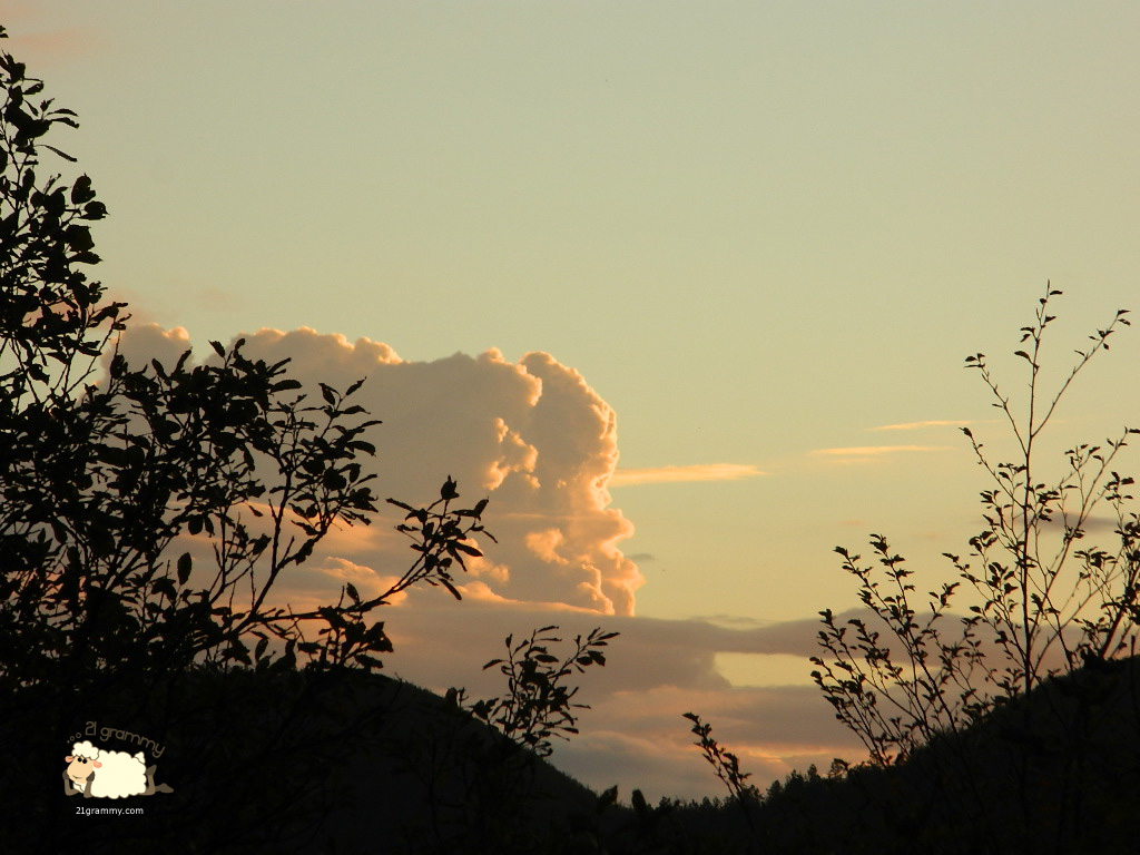 sunset campigna emilia romagna