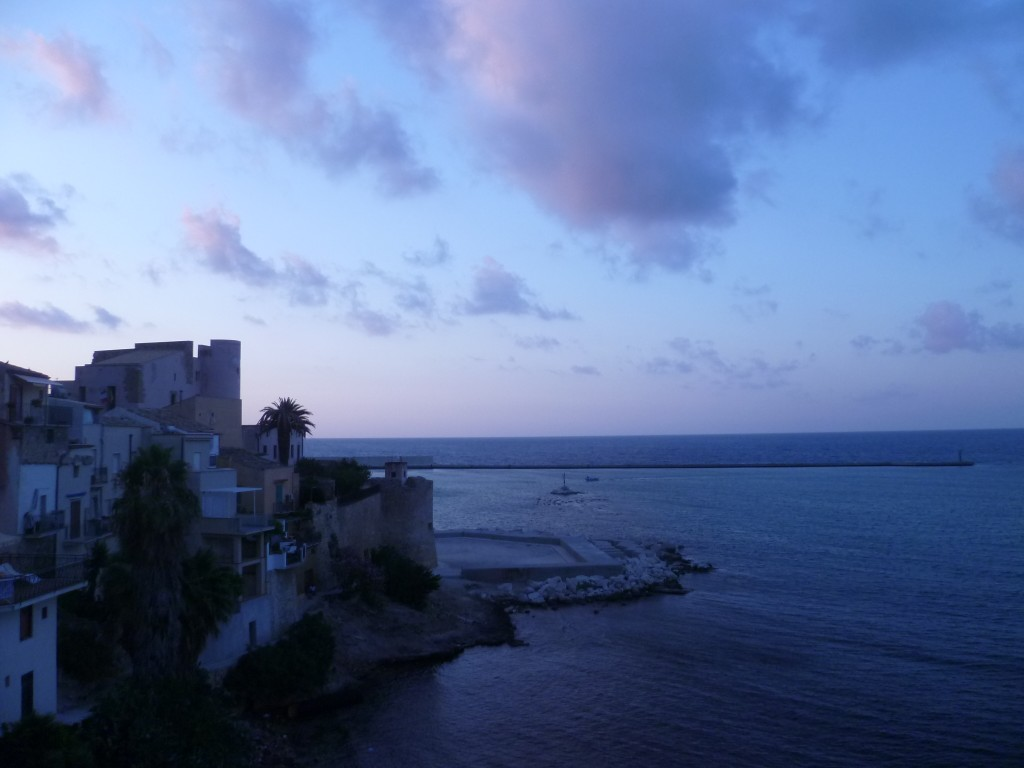 Castellammare del Golfo @night