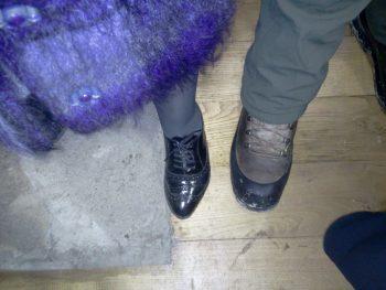 Unproper shoes