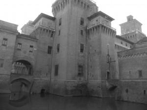 Ferrara, castle, romagna