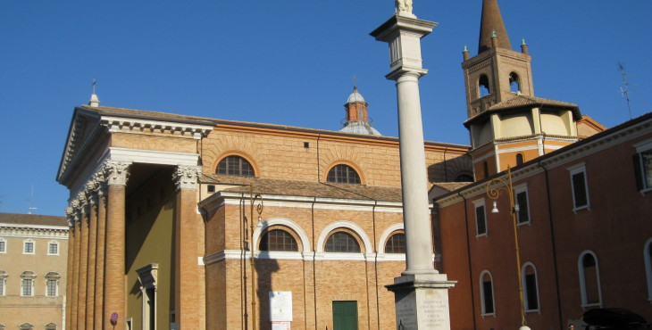 Cathedral of the town of Forlì
