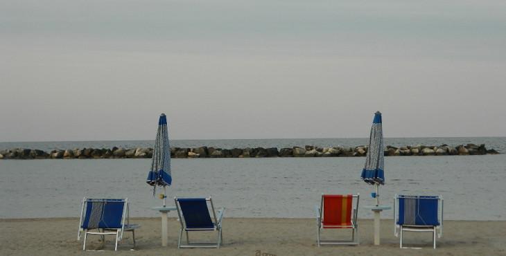 the beach of bellaria