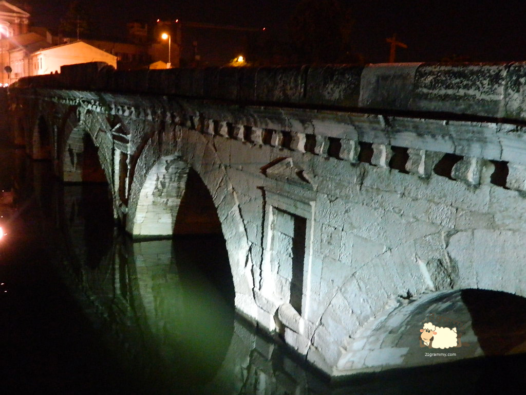 tiberio bridge rimini