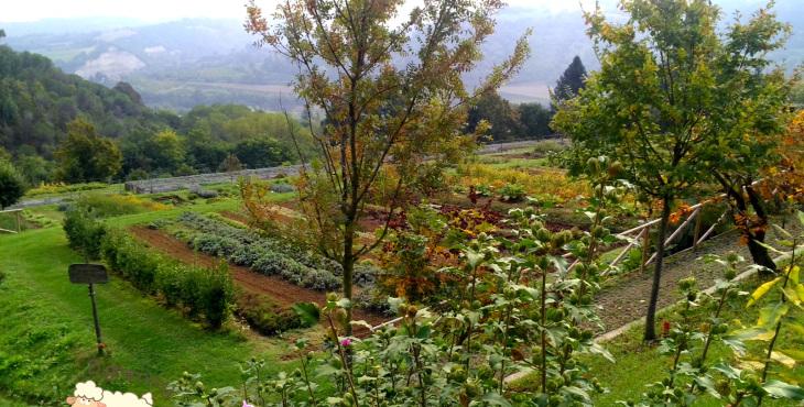 casola valsenio emilia romagna garden forgotten herbs