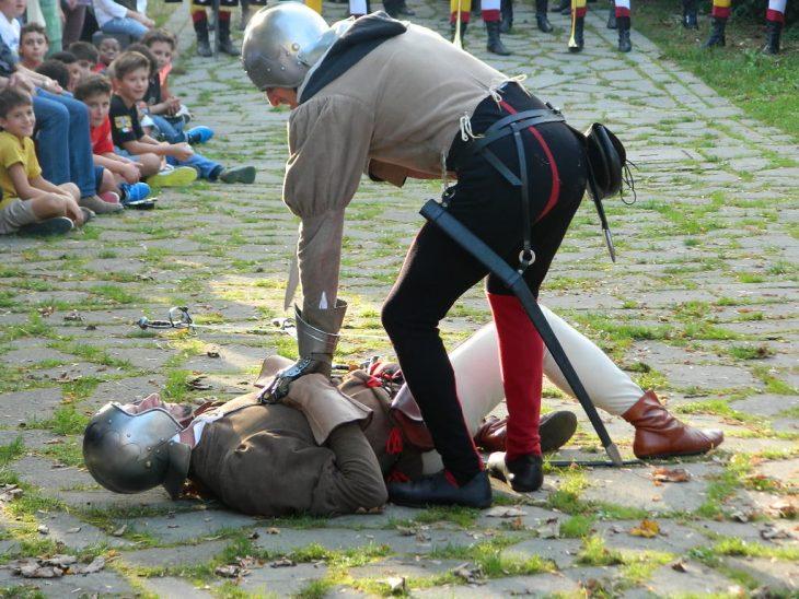 medieval games at portico emilia romagna