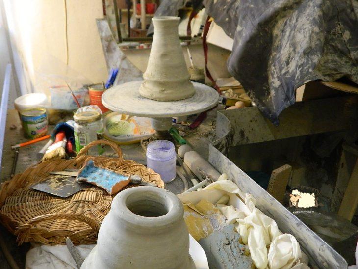 pottery at portico di romagna