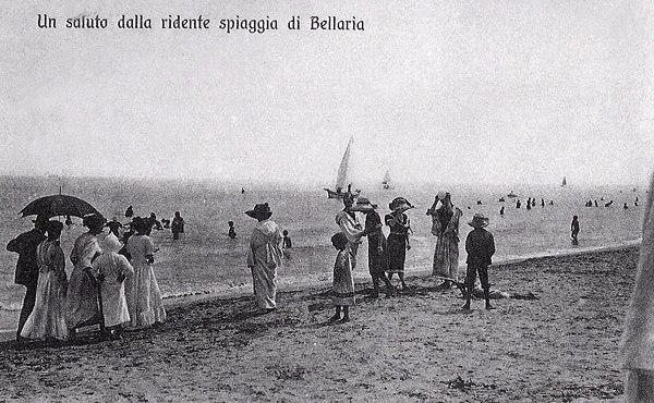 bellaria emilia romagna beach
