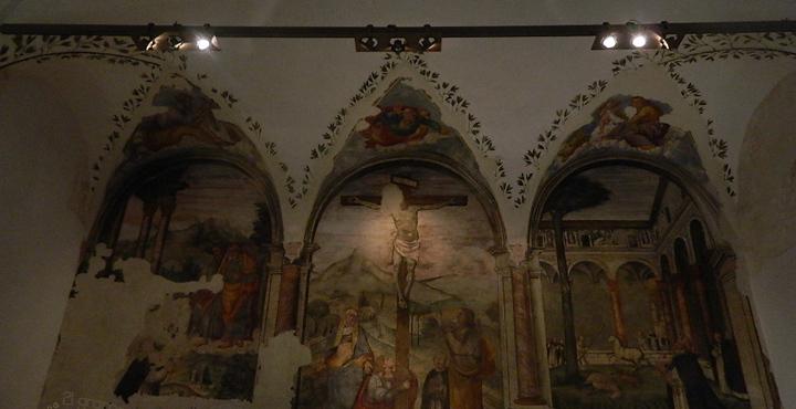 san domenico frescos forlì