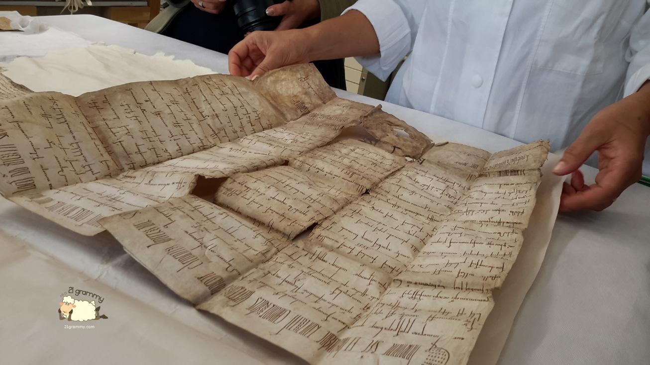 ancient books restoring emilia romagna
