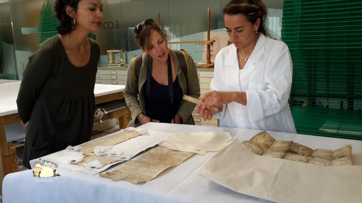 restoring ancient books in forlì